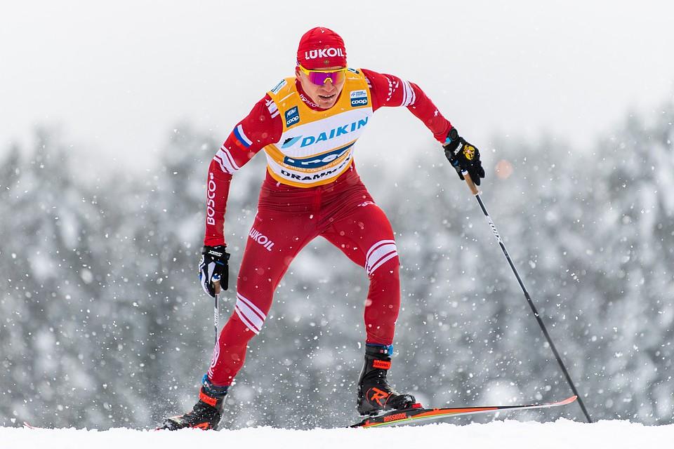 Русский лыжник Большунов выиграл марафон, обойдя на финише норвежца на его же трассе
