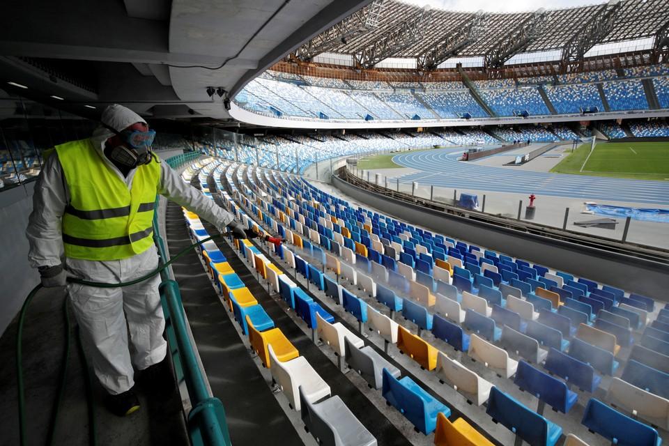 Спортивные мероприятия пришлось отменить, чтобы предотвратить дальнейшее распространение заболевания