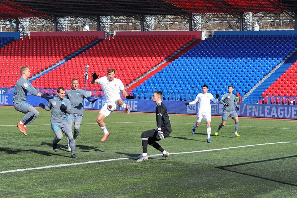 Вторая игра и вторая победа: «СКА-Хабаровск» дома переиграл «Нижний Новгород» со счетом 2:0