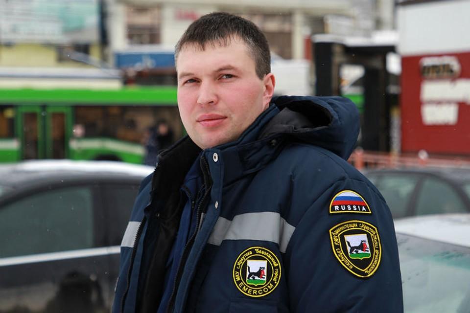 Вот он, герой Михаил Дмитриев