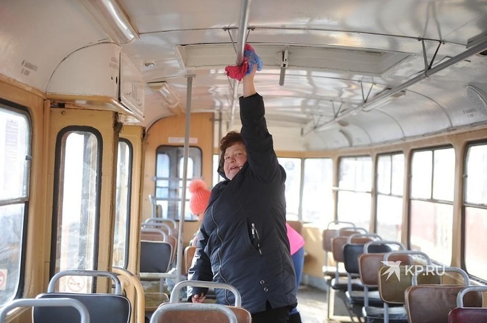 Обрабатывается и общественный транспорт