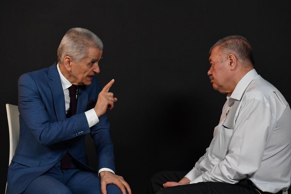 """Онищенко - о коронавирусе, гречке и """"паразите Гамове"""""""