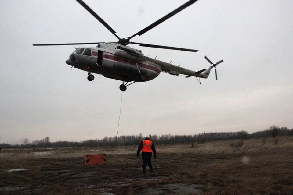 Под Хабаровском пилоты МЧС готовятся тушить лесные пожары