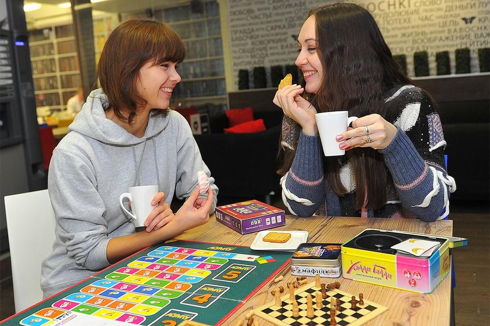 Настольные игры - отличный способ провести с интересом время.