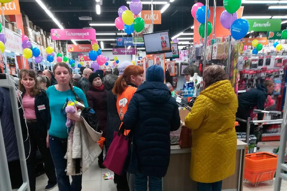 Открытие магазина в Бийске.