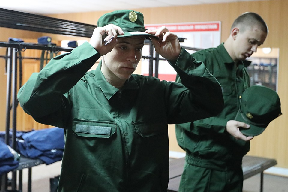 Большинство призывников будут отправлены в войска в мае и июне