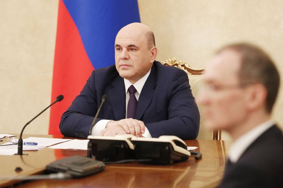 Премьер-министр РФ Мишустин провел совещание по экономическим вопросам. Фото: Дмитрий Астахов/ТАСС