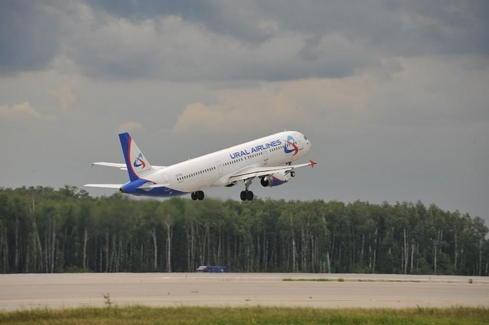 В Кольцово проверяют самолеты «Уральских авиалиний» из-за сообщения о минировании