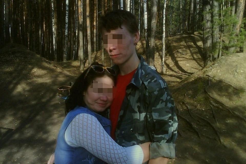 На фото Александр и его девушка по имени Рамиля, с которой они вместе жили. Фото: соцсети
