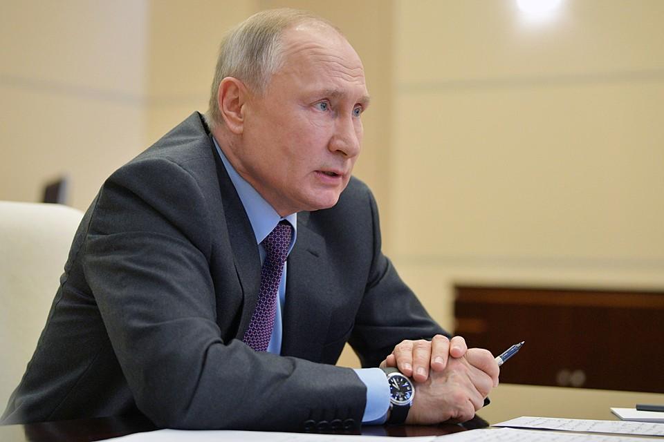 Соответствующее распоряжение издал президент России Владимир Путин