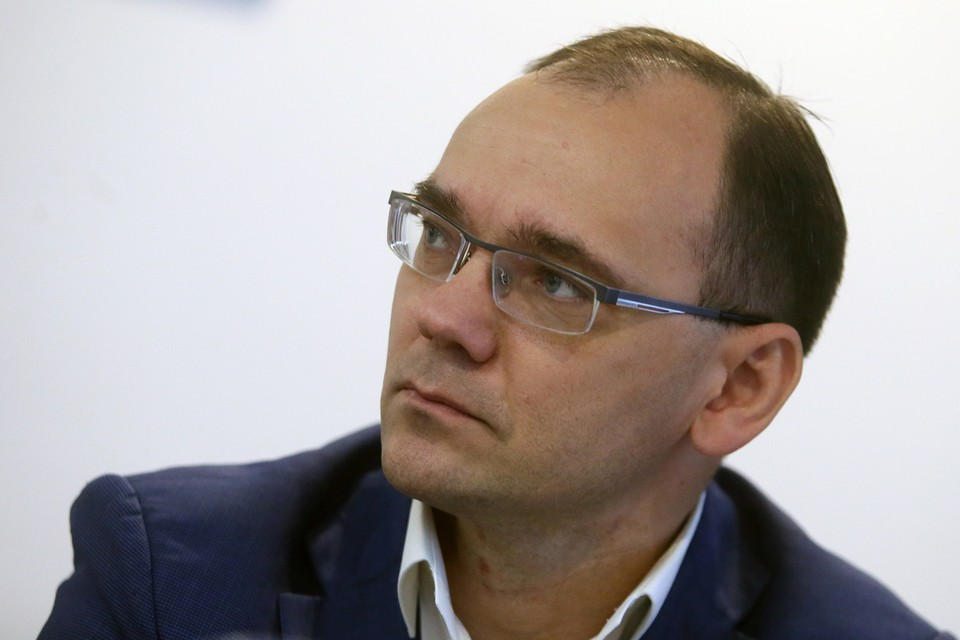 На вопросы ответит заместитель министра просвещения Дмитрий Глушко. Фото: Андрей Махонин/ТАСС