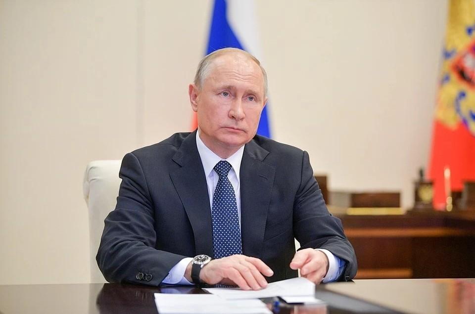 Владимир Путин рассказал о взаимодействии России с США Фото: Пресс-служба президента, ТАСС