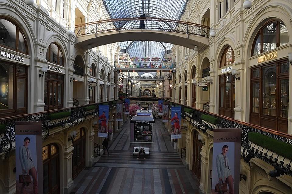 Торговые улицы Москвы после карантина: около 20% кафе и магазинов не откроются