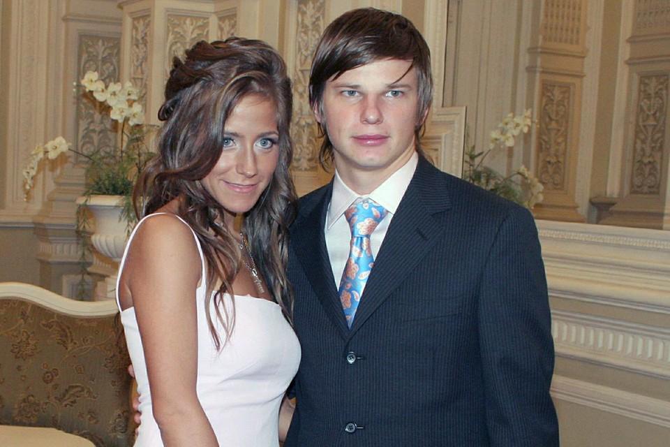 Юлия Барановская и Андрей Аршавин, 2006 г.