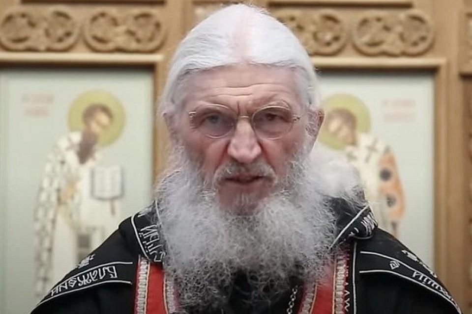 Схиигумен Сергий (Романов) не согласовал свою позицию с Екатеринбургской епархией. Фото: скрин с записи выступления