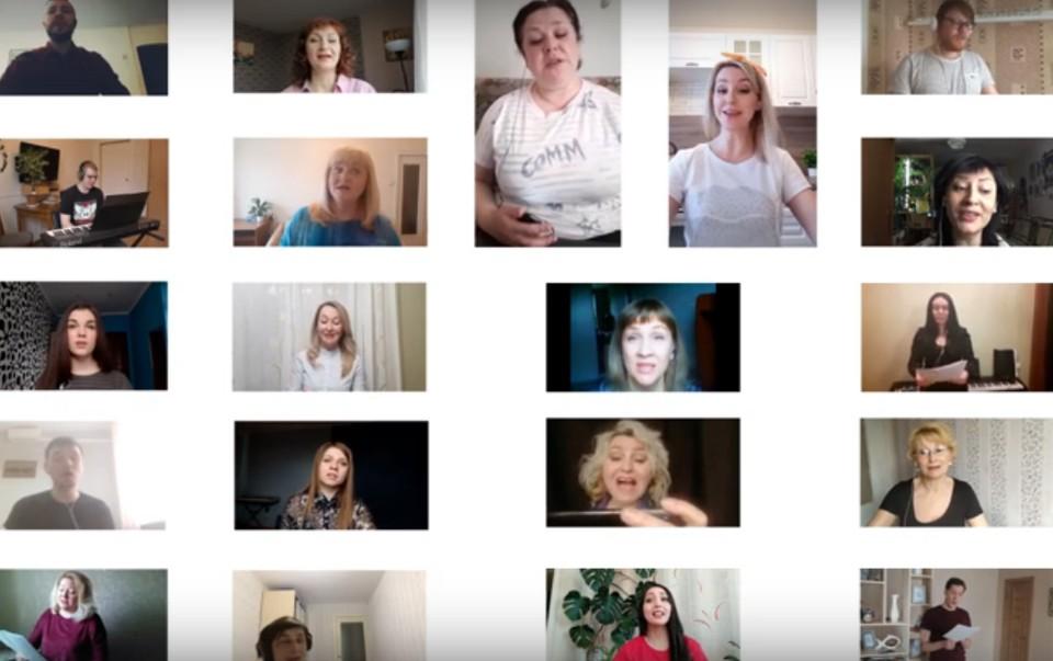 Хор из Удмуртии записал ответное видео с песней для австралийских музыкантов Фото: скриншот