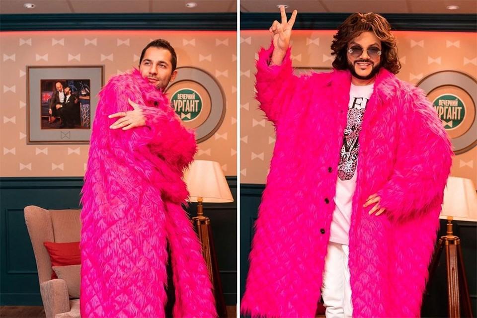 Стилист Филиппа Киркорова Арсен Айрапетов (на фото слева) был в шоке от количества нарядов, которые накопились в гардеробных артиста.