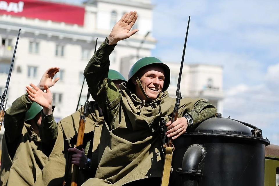 День Победы в Челябинске 9 мая 2020 года проходит в режиме самоизоляции