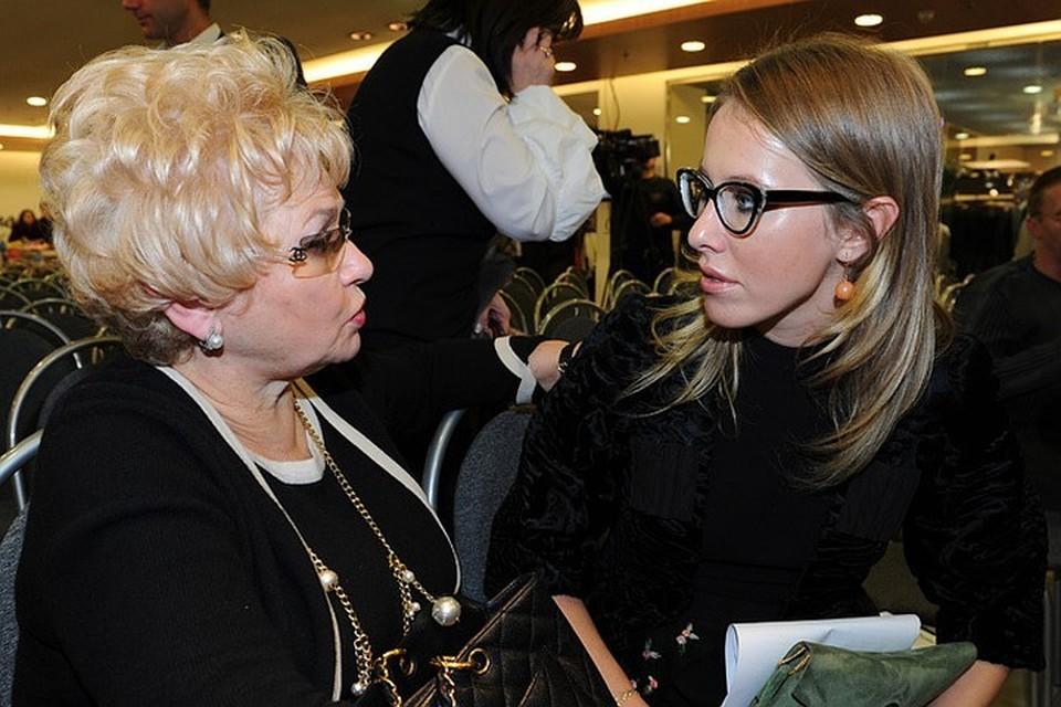 Ксения Собчак сделала заявление о болезни мамы Людмилы Нарусовой