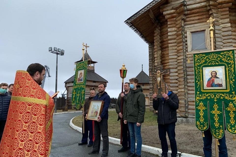 В Салехарде возобновлены службы в Обдорском остроге Фото: Салехардская епархия РПЦ