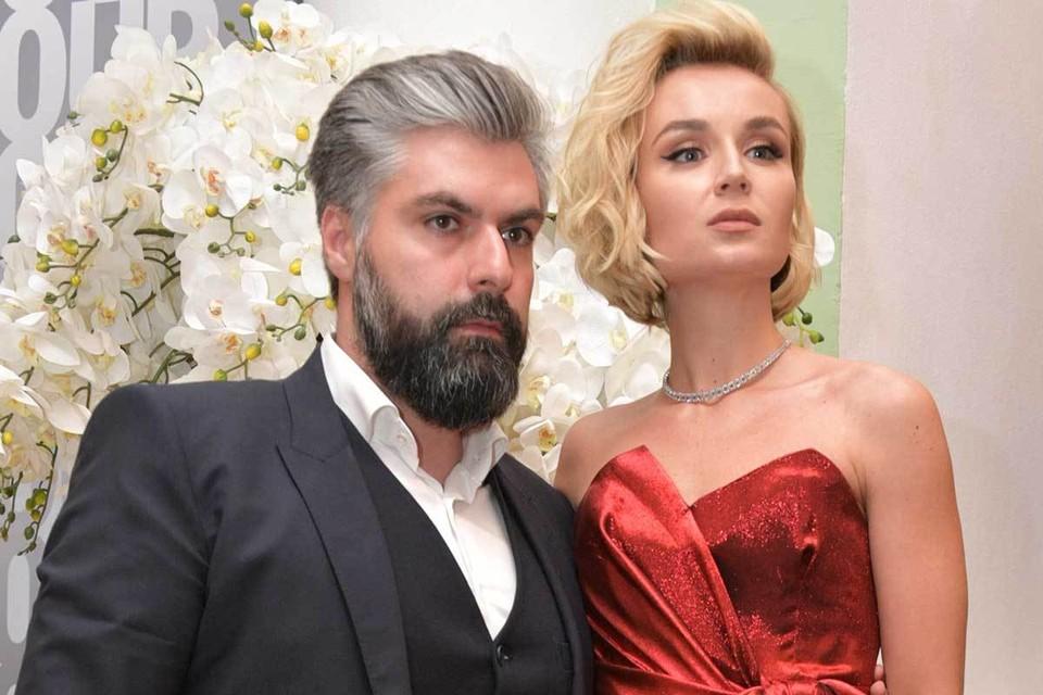 Полина Гагарина с супругом Дмитрием Исхаковым в 2018 г.