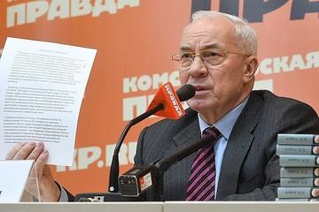 Экс-премьер Украины Николай Азаров: Зеленский работает под задачи Госдепа, где Киев Москве - враг!