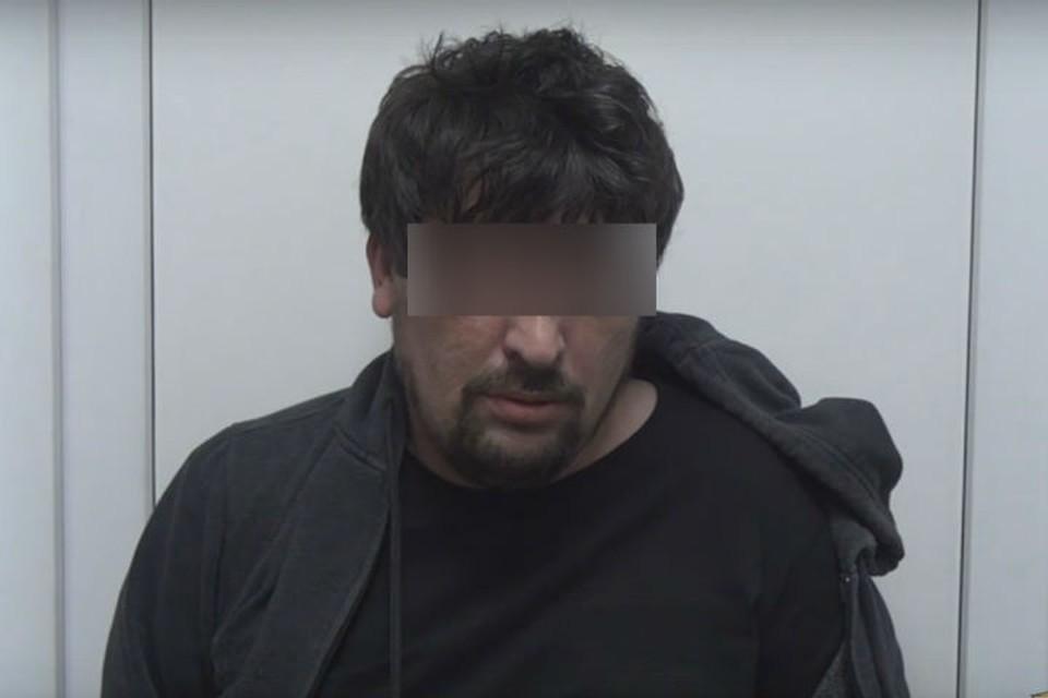 Задержанный сутенер. Фото: ГУ МВД России по Иркутской области