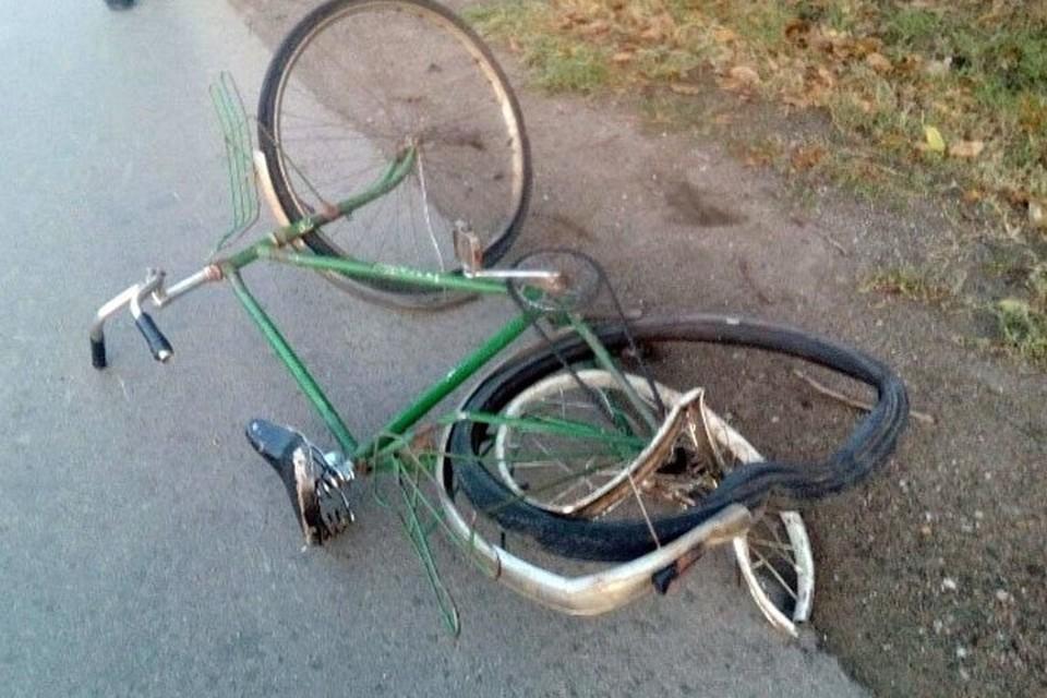 Водитель микроавтобуса в Ганцевичах сбил насмерть велочипедиста. Фото: twitter.com