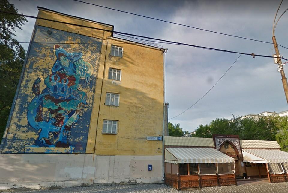В общежитии УрФУ нашли зараженного коронавирусом. Фото: Google Maps