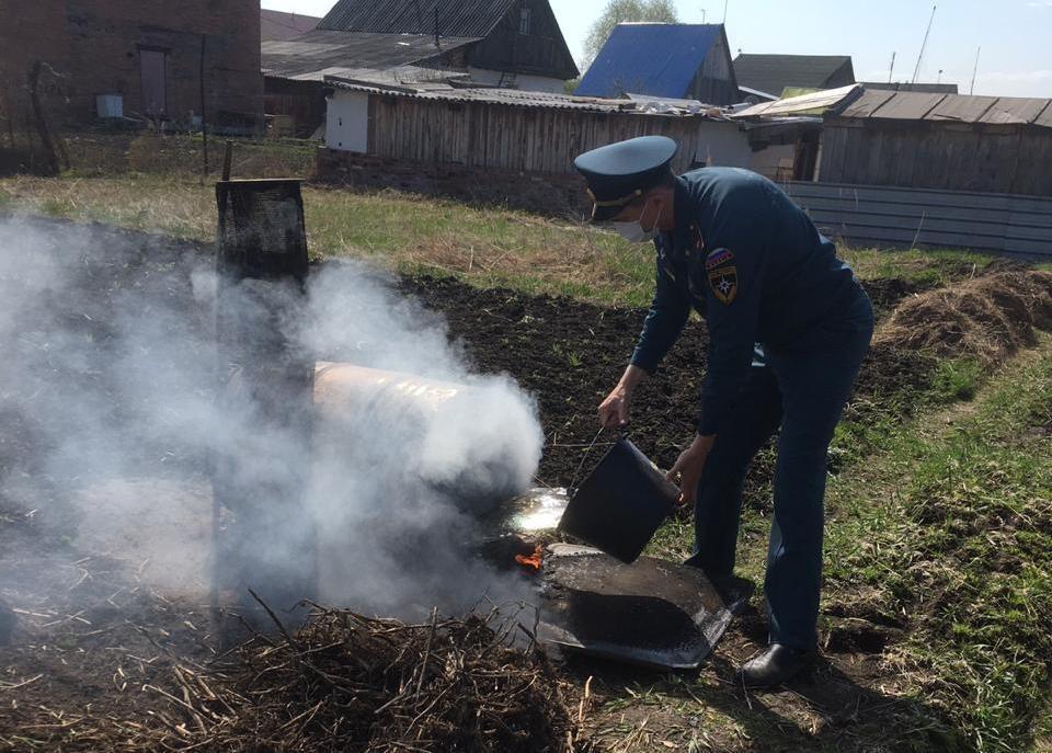 Разводить на участке огонь пока запрещено. Фото: ГУ МЧС по Свердловской области