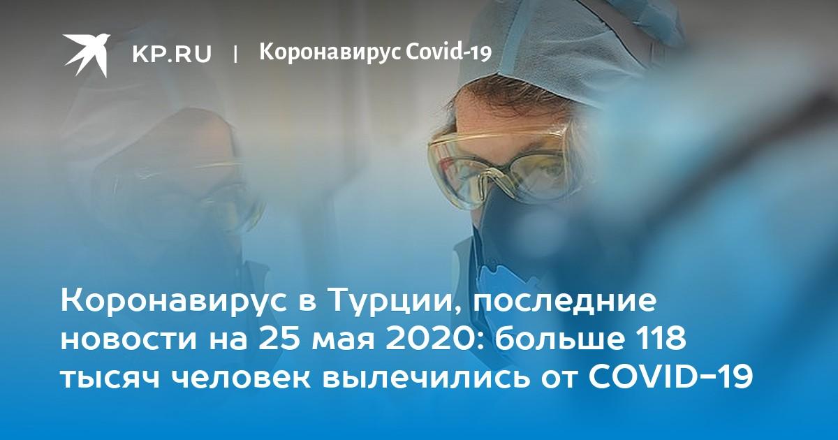Коронавирус в Турции, последние новости на 25 мая 2020: больше 118 тысяч человек вылечились от COVID-19