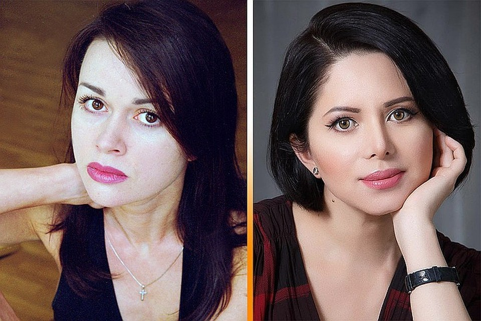 Виктория Ворожбит (справа) внешне напоминает актрису Анастасию Заворотнюк. Фото: личная страничка в соцсети + Global Look Press