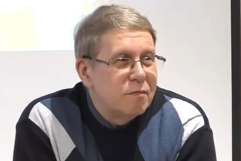 Писатель-прогностик Сергей Переслегин.