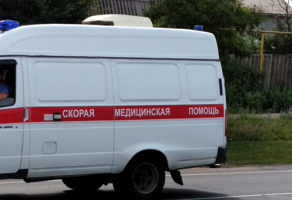В результате ДТП водитель автомобиля ВАЗ скончался на месте