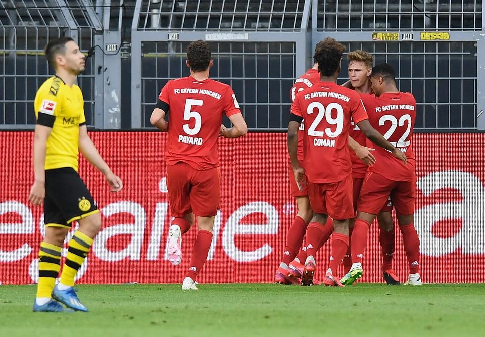 Отрыв «Баварии» от «Боруссии» вырос до семи очков. Фото: twitter.com/fcbayern.