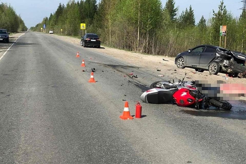 Мотоциклистов ХМАО просят быть аккуратнее на дорогах. Фото ГИБДД Югры.