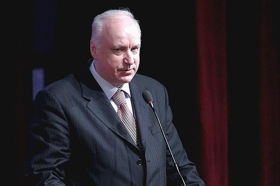 Александр Бастрыкин поручил следователям в кратчайшие сроки установить личности напавших на полицейского