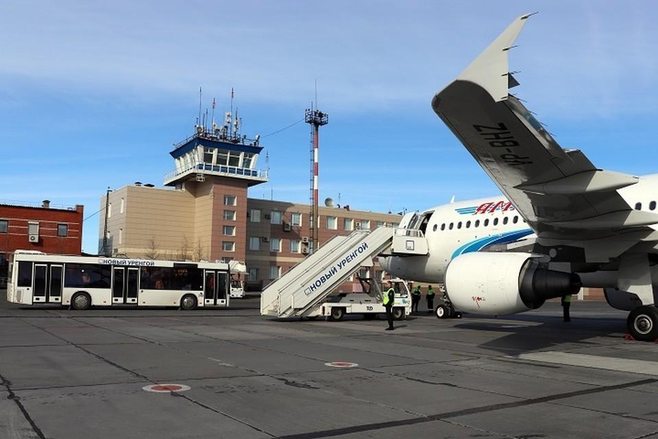 Аэропорт Нового Уренгоя корректирует работу из-за реконструкции аэродрома Фото: пресс-служба аэропорта