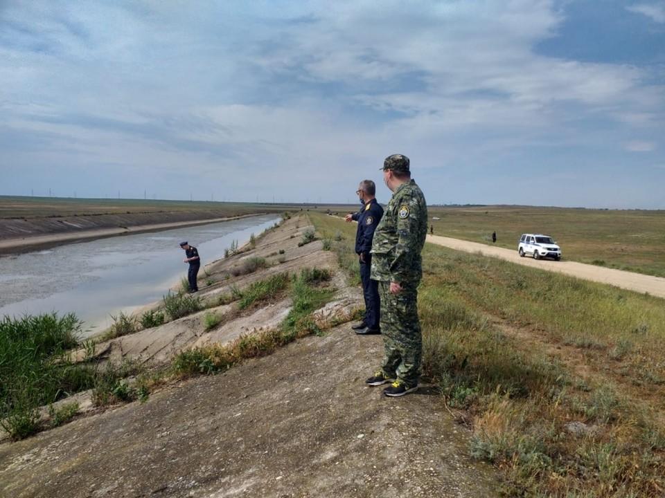 Девочка пропала неподалеку от Северо-Крымского канала. Фото: Следком РФ по РК.