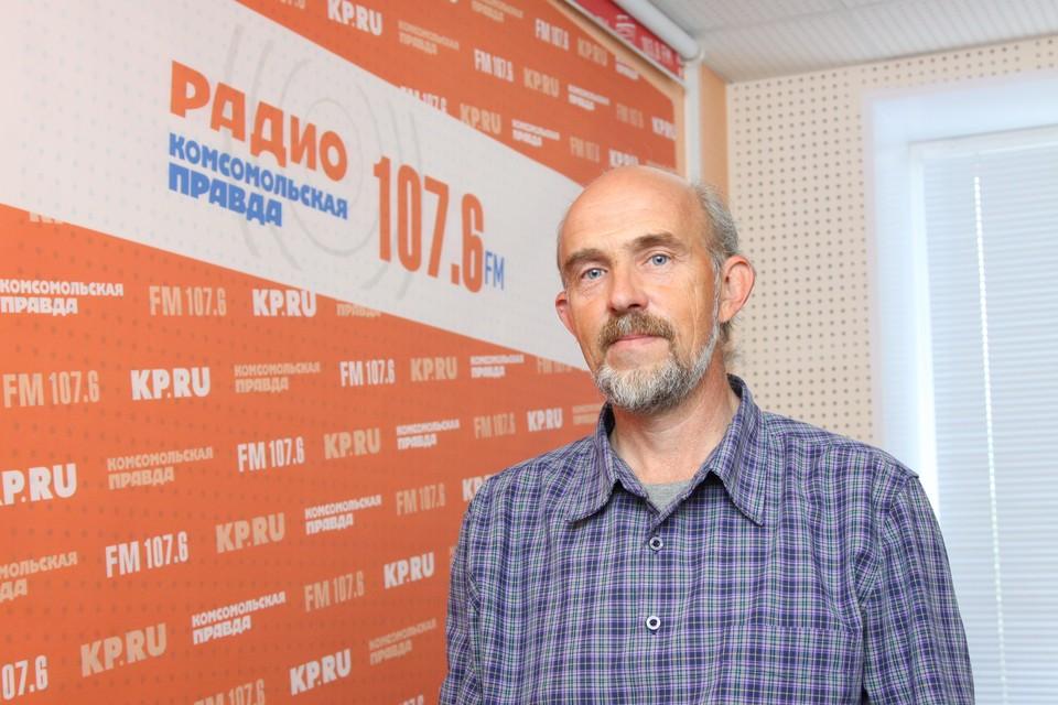 Преподаватель кафедры экологии и природопользования УдГУ Дмитрий Адаховский