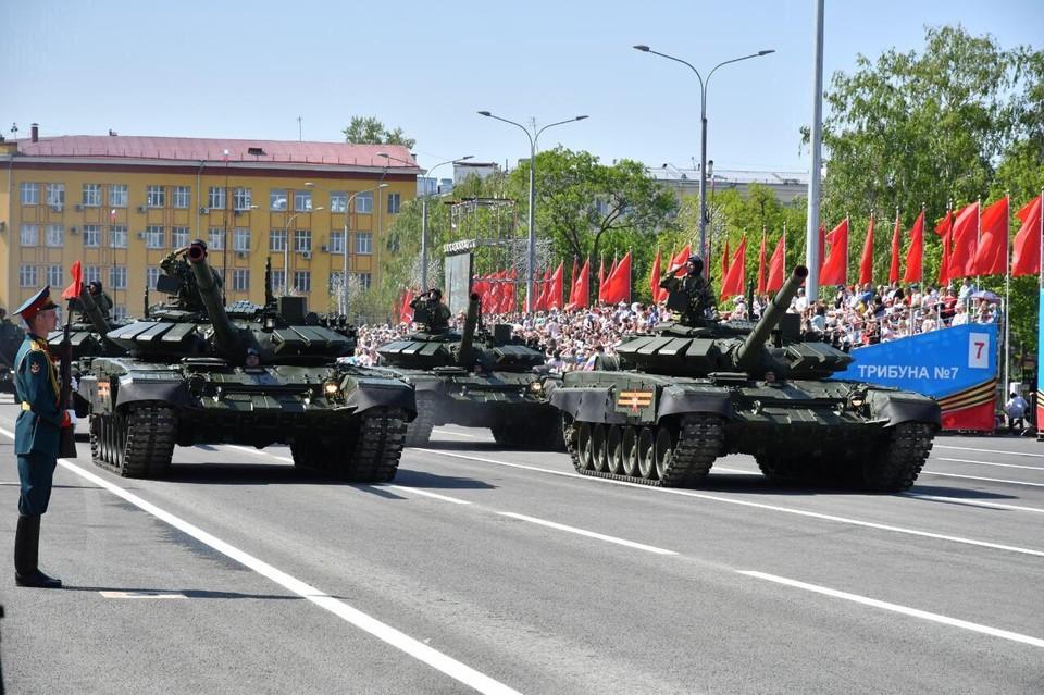 В Самаре готовят Парад Победы 2020