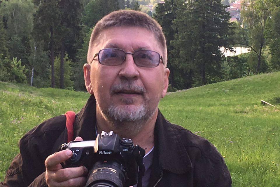 """Журналист """"Комсомольской правды"""" Сергей Пономарев."""