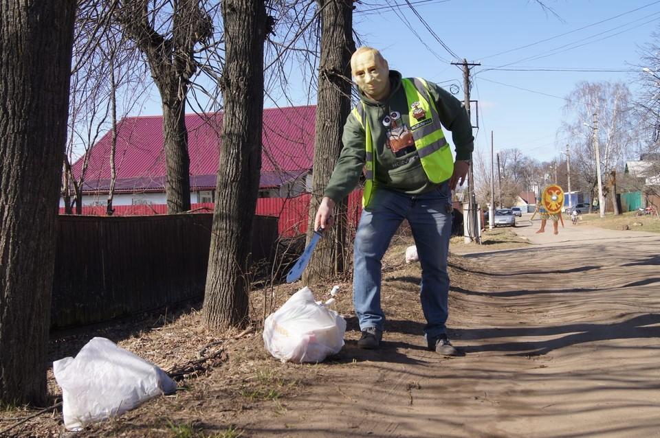 Экоактивист делает родную Кострому чище уже несколько лет. Фото: GarbageMan