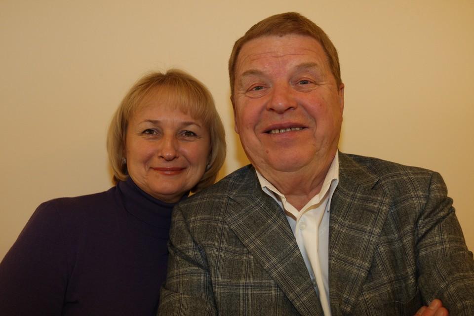 Михаил Кокшенов и его жена Наталья Лепехина.