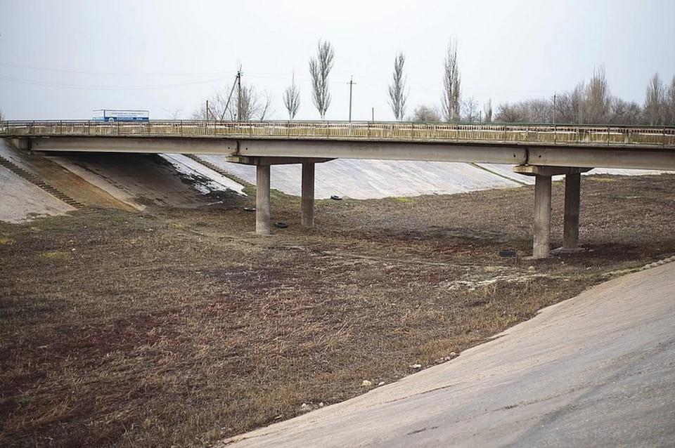 Крым испытывает дефицит воды уже несколько лет