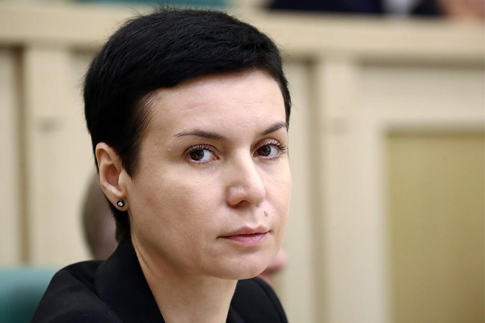 Первый зампред конституционного комитета Совета Федерации Ирина Рукавишникова. Фото: Валерий Шарифулин/ТАСС