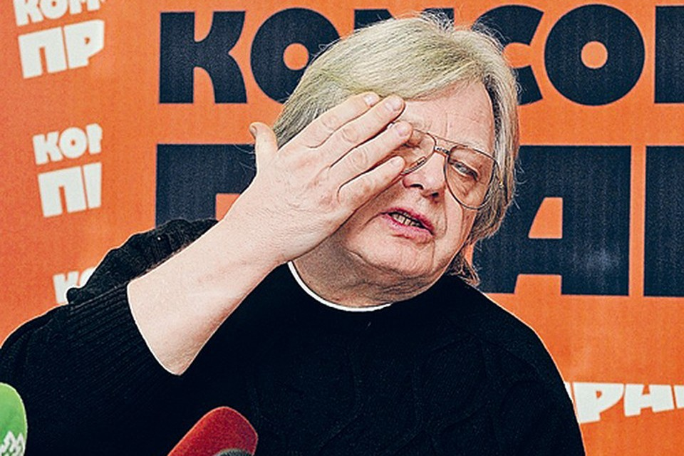 Юрий Михайлович утверждает, что байкер разбил ему бровь