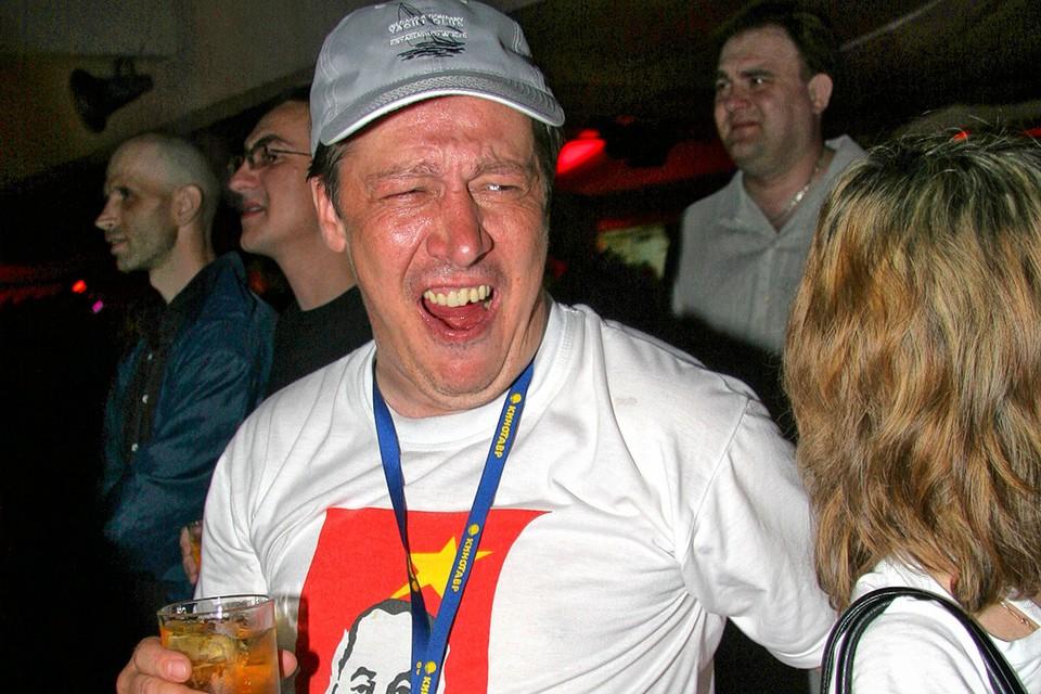 """Актер Михаил Ефремов на вечеринке """"Кинотавра""""."""
