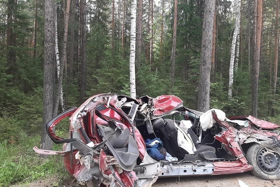 Даже страшно представить, какие травмы получила погибшая. Фото: УГИБДД по Свердловской области