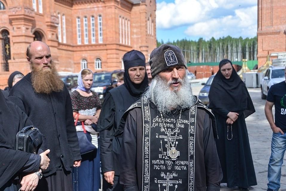 Опальный отец Сергий в Среднеуральском женском монастыре.